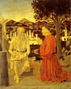 Piero della Francesca | San Girolamo e un devoto | mostre Forlì