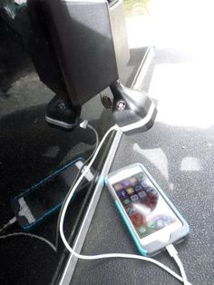 No more drained cell phone, GPS, SkyCaddie or iPad batteries with this must have golf cart accessory.  Find out if there is an adapter for your golf cart make and model.