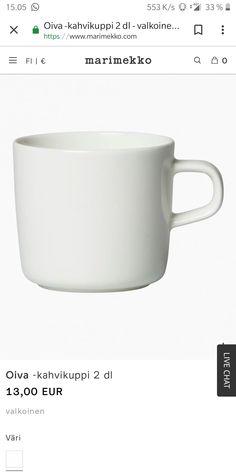 Marimekko, Mugs, Tableware, Kitchen, Dinnerware, Cooking, Tumblers, Tablewares, Kitchens