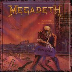 "L'album dei #Megadeth intitolato ""Peace sells ... but who's buying?""."