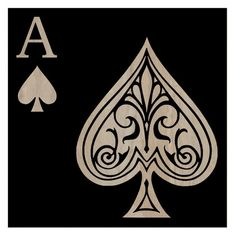 Ace of Spades Artwork/ this would become a killer tattoo with a few more details