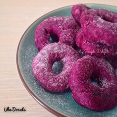 Ube/Purple Yam Donuts | My Simple Delights