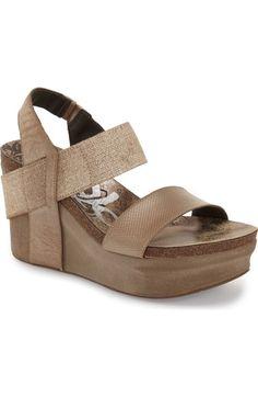 OTBT 'Bushnell' Wedge Sandal available at #Nordstrom