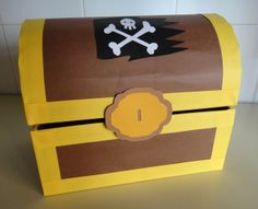El taller de Naidú: Cofre del tesoro. Pirate Birthday, Pirate Party, Diy Birthday, Pirate Treasure, Treasure Boxes, Fun Activities For Kids, Crafts For Kids, Pirate Photo Booth, The Pirates