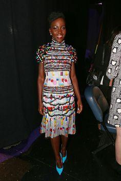 Lupita Nyong'o in Chanel at MTV Movie Awards 2014