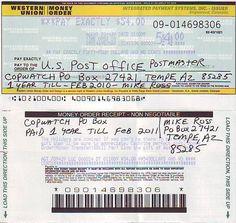 Money order to pay off PO Box Tempe, Az 85285 Payroll Template, Money Template, Id Card Template, Card Templates, Printable Checks, Templates Printable Free, Money Generator, Gift Card Generator, Printable Play Money