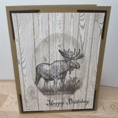 Stamp & Scrap with Frenchie: Walk in the Wild and Hardwood