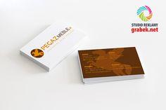 Wizytówki dla właściciela sklepu internetowego Pegaz Meble