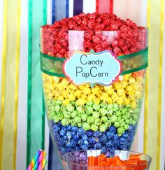 Rainbow Candy Buffet • Oh! Nuts®