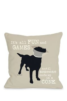 "Too funny! This would look good on my dog ""Derby's"" bed! :)"