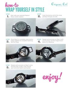 How to put together wrap bracelet
