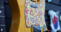Paisley Pattern For Tele Style by stormguitar