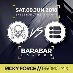 Stream RICKY FORCE - Skeleton vs Repertoire 2 Promo Mix by Monita Skeleton from desktop or your mobile device Drum N Bass, Skeleton, Amen, Law, Boss Man, Events, London, Night