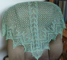 Ravelry: Berkanan Shawl pattern by Anne-Lise Maigaard  About $6.00 Pattern, Lace weight