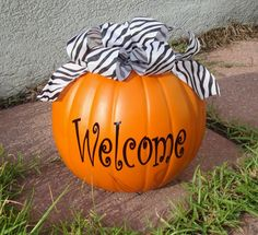 Make this... but where to buy a cheap fake pumpkin?