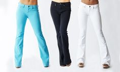 Groupon - $ 25.99 for R.E.U.S.E Flare or Bell Bottom Jeans ($ 95 List Price). Multiple Colors Available. Free Shipping and Returns.. Groupon deal price: $25.99