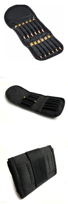 [Visit to Buy] Rifle Cartridge Padded Holder Carrier 12 Rifle .30-06 Shotgun Cartridge Wallet bag Hunting Accessory Gun Cartridge Holder Caza #Advertisement
