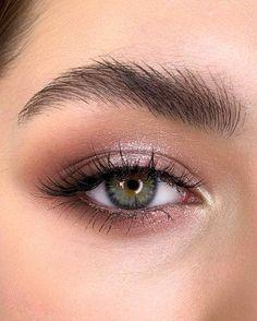 Perfect Makeup, Gorgeous Makeup, Pretty Makeup, Prom Makeup For Brown Eyes, Natural Prom Makeup, Natural Brown Eye Makeup, Brown Eyeliner, Nude Makeup, Eyeshadow Makeup