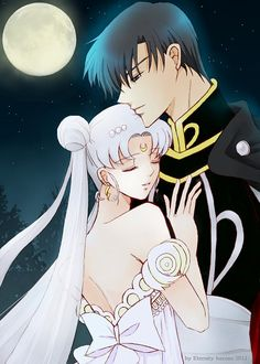 Prince Endymon and Princess Serenity
