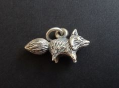 James-Avery-3D-Fox-Charm-Sterling-Silver-3-4-Rare-Retired-CHS121