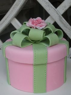 Small box with rose