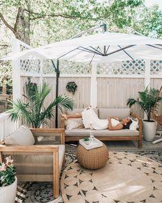 Outdoor Zelt, Indoor Outdoor, Outdoor Living, Outdoor Rugs, Small Outdoor Patios, Outdoor Cushions, Small Patio, Outdoor Gardens, Apartment Patio Gardens