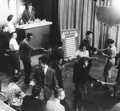 Watching American Bandstand every Saturday!