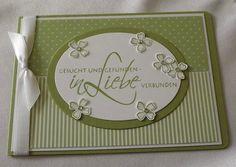 Hochzeitskarte  von Liebe Grüsse auf DaWanda.com