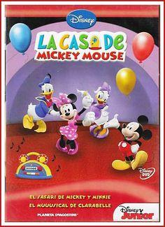 EL SAFARI DE MICKEY Y MINNIE. Mickey y Minnie quieren ir de safari a buscar algo muy especial... Una flor única que sólo abre sus pétalos una vez al año: ¿Hoy! ¿Quieres acompañarles a buscarla?<br>EL MUUUSICAL DE CLARABELLE. Todos nuestros amigos, incluso la gallinita Bubu, han ido a buscar a Mickey para celebrar el día de Mamá Oca. Clarabelle ha preparado un misical en el Mickey pargque... ¡Con todas las gallinas!