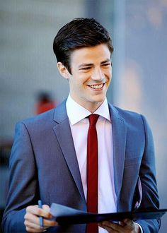 Grant Gustin.  The flash.  Barry Allen