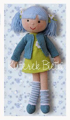 Kuferek Bietki: Anastazja -lalka na szydełku/ Anastasia Gehäkelte Puppe/ Crochet Doll http://lalkimisie.blogspot.com/2014/01/anastazja-lalka-na-szydeku-anastasia.html