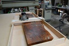 Picture of Place Your Slabs Into the Sled Base