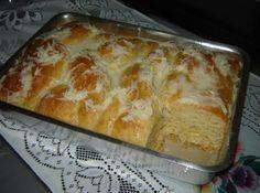Pão de leite condensado de liquidificador