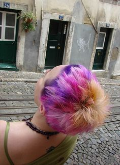 dyed hair jezz 3 | Flickr - Photo Sharing!