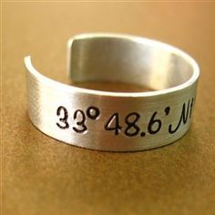 #Annie Nygard             #ring                     #Latitude #Longitude #Ring #Spiffing #Jewelry       Latitude and Longitude Ring - Spiffing Jewelry                                http://www.seapai.com/product.aspx?PID=1829009
