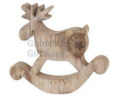 Wooden Rocking Deer With Stamp  @ gainsboroughgiftware.com Woodland, Deer, Symbols, Stamp, Christmas, Art, Xmas, Art Background, Stamps
