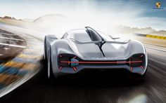 Porsche Electric Le Mans 2035
