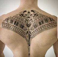 Nape Tattoo, Back Tattoos, Mini Tattoos, Leg Tattoos, Tribal Tattoos, Tatoos, Always Tattoo, Surf Tattoo, Hybrid Design