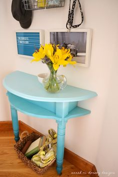 1/2 table for tight space!