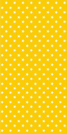 Vinyl wallpaper. Self-adhesive -yellow with white stars (IDO)