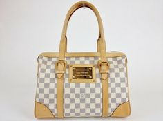 Louis Vuitton Damier Azur Berkeley Shoulder Bag $1,750