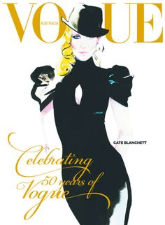 Cate Blanchett by David Downton Vogue Australia September 2009