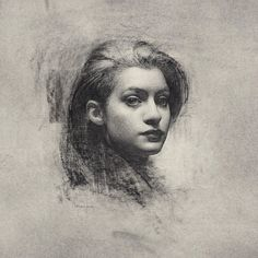 For Sale on - Study for Alyssa, Charcoal by Stephen Bauman. Offered by Grenning Gallery. Portrait Drawing, Fine Art, Character Portraits, Drawing Programs, Painting, Art, Florence Academy Of Art, Portrait, Portrait Art