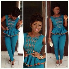 Best Ankara Jumpsuit styles - Od9jastyles | The Best Place for Latest Ankara and Asoebi Styles
