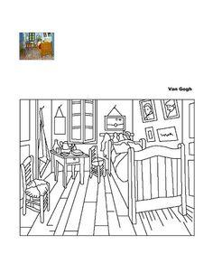 Quadros de artistas famosos para colorir - Bianca Grossi - Picasa Albums Web