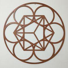 Geometria Sagrada. Sacred Geometry El cubo metatrón puede ayudar a todos los seres humanos que empiezan nuevos proyectos, y puede inspirarnos nuevas ideas espirituales y guardarlas en nuestros registros Akáshicos. Con la meditación sobre éste podemos desarrollar nuestra memoria holográfica, que nos muestra en imágenes el proceso de la Creación. Wood MDF Madera MDF www.luckyzen.net