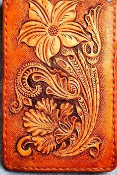 #floral #sheridan #tooledleather #leathercraft