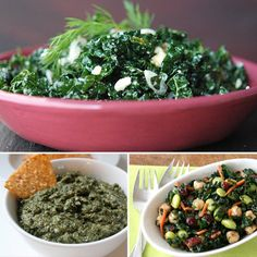 14 Recipes For Kale: Even though kale might be one of the healthiest veggies around — it's packed with vitamin, minerals, and cancer-fighting phytonutrients — it's also incredibly versatile. It's great in soups and smoothies and almost everything in between. Here are 14 ways to prepare this hearty, healthy green.
