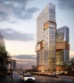 Tencent Offices, Shenzhen, China I NBBJ Ltd