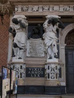 Basilica di Santa Maria Gloriosa dei  Frari - Venice, Italy - Pesaro Slaves
